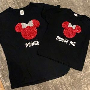 Disney shirts for mom and daughter